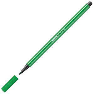 ファイバーチップペン スタビロ ペン68 ファイバーチップペン 10セット グリーン 68-36|nomado1230