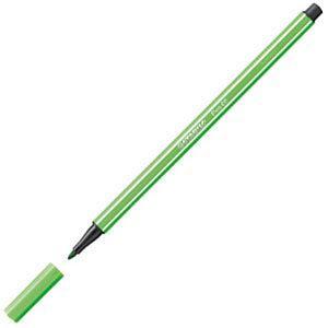 ファイバーチップペン スタビロ ペン68 ファイバーチップペン 10セット リーフグリーン 68-43|nomado1230