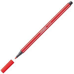 ファイバーチップペン スタビロ ペン68 ファイバーチップペン 10セット カーマイン 68-48|nomado1230