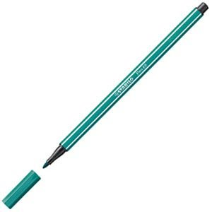 ファイバーチップペン スタビロ ペン68 ファイバーチップペン 10セット ターコイズブルー 68-51|nomado1230