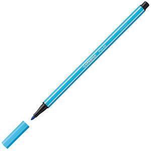 ファイバーチップペン スタビロ ペン68 ファイバーチップペン 10セット アズール 68-57|nomado1230