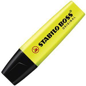 マーカー スタビロ ポス オリジナル 蛍光マーカー 10本セット イエロー 70-24|nomado1230