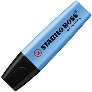 マーカー スタビロ ポス オリジナル 蛍光マーカー 10本セット ブルー 70-31|nomado1230