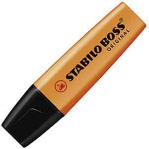 マーカー スタビロ ポス オリジナル 蛍光マーカー 10本セット オレンジ 70-54|nomado1230