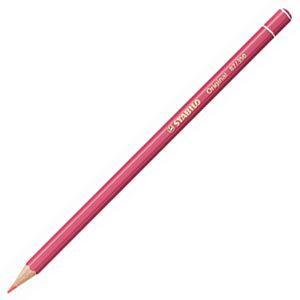 スタビロ オリジナル 硬質水彩色鉛筆 2.5ミリ 単色 12本セット マダーローズライト 87-350|nomado1230