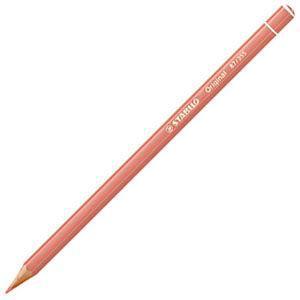 スタビロ オリジナル 硬質水彩色鉛筆 2.5ミリ 単色 12本セット フレッシュピンク 87-355|nomado1230