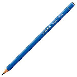 スタビロ オリジナル 硬質水彩色鉛筆 2.5ミリ 単色 12本セット ウルトラマリンブルー 87-405|nomado1230