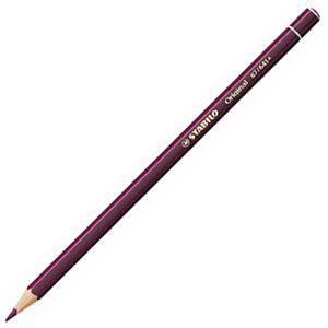 スタビロ オリジナル 硬質水彩色鉛筆 2.5ミリ 単色 12本セット キャプトモータムバイオレットミドル 87-641|nomado1230