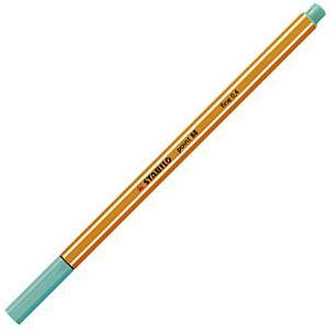 ファイバーチップペン スタビロ ポイント88 ファイバーチップペン 10セット アイスグリーン 88-13|nomado1230