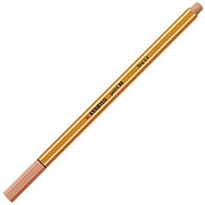 ファイバーチップペン スタビロ ポイント88 ファイバーチップペン 10セット アプリコット 88-26|nomado1230