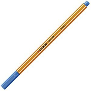 ファイバーチップペン スタビロ ポイント88 ファイバーチップペン 10セット ミドルブルー 88-32|nomado1230