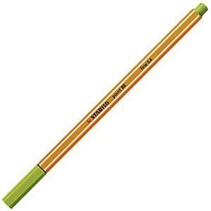 ファイバーチップペン スタビロ ポイント88 ファイバーチップペン 10セット アップルグリーン 88-33|nomado1230
