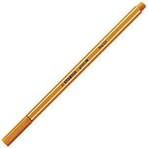 ファイバーチップペン スタビロ ポイント88 ファイバーチップペン 10セット オレンジ 88-54|nomado1230