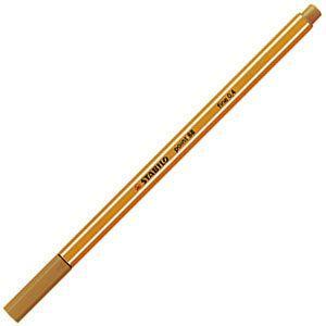 ファイバーチップペン スタビロ ポイント88 ファイバーチップペン 10セット ダークオーカー 88-89|nomado1230