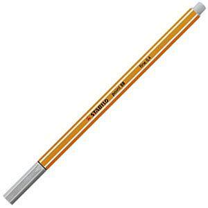ファイバーチップペン スタビロ ポイント88 ファイバーチップペン 10セット ライトグレー 88-94|nomado1230