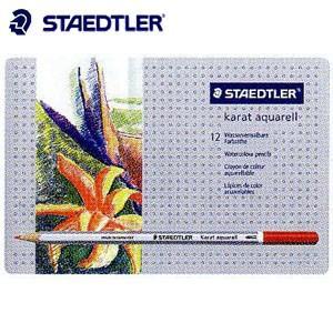 色鉛筆 水彩 セット ステッドラー カラト アクェレル125 水彩色鉛筆 12色セット 125M12|nomado1230