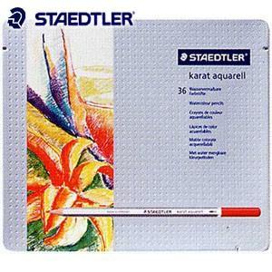 色鉛筆 水彩 セット ステッドラー カラト アクェレル125 水彩色鉛筆 36色セット 125M36|nomado1230