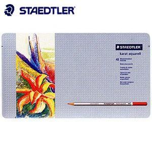 色鉛筆 水彩 セット ステッドラー カラト アクェレル125 水彩色鉛筆 48色セット 125M48|nomado1230