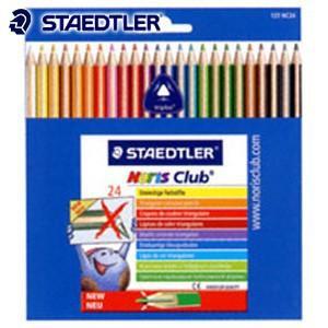色鉛筆 セット ステッドラー ノリスクラブ トリプラス 色鉛筆 24色セット 127NC24|nomado1230