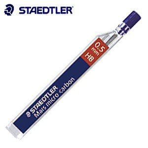 替芯 ステッドラー マルス マイクロカーボン シャープ替芯 0.5ミリ 12個セット 250 05-|nomado1230
