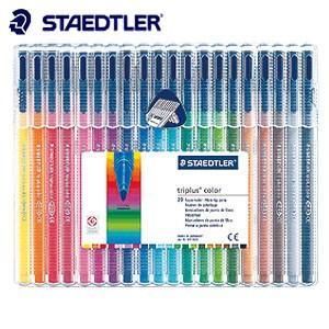 水性ペン ステッドラー トリプラス カラーペン 20色セット 323-SB20|nomado1230