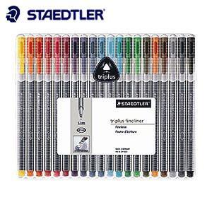 ファインライナー ステッドラー トリプラス ファインライナー 細書きペン 20色セット 334SB20|nomado1230