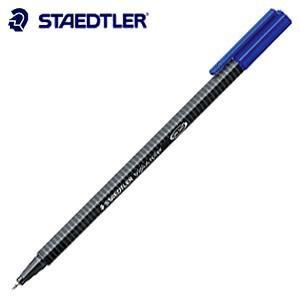 高級 ボールペン ステッドラー トリプラス ローラー 水性ボールペン ライトブルー 10本入り 403-34|nomado1230