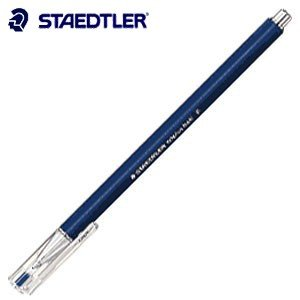 高級 ボールペン ステッドラー トリプラス・ボール 油性ボールペン ブルー 10本入り 431-F-3|nomado1230