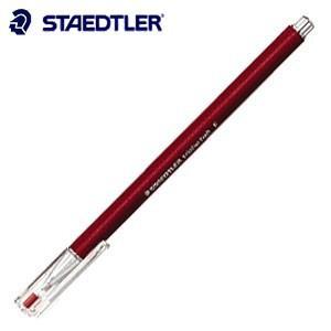 高級 ボールペン ステッドラー トリプラス・ボール 油性ボールペン レッド 10本入り 431-F-2|nomado1230