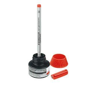 補充インク ステッドラー ルモカラー リフィルステーション 水性用補充インク 315用 4個包装 レッド 487-15-2|nomado1230|02