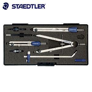 製図用品 ステッドラー コンフォート マルス 551シリーズ メタル製スプリング コンパスFセット 551-09S|nomado1230