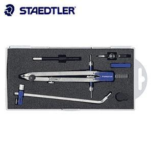 製図用品 ステッドラー マルス 553シリーズ プロフェッショナル メタル製中車式 コンパスCセット 553-01R|nomado1230