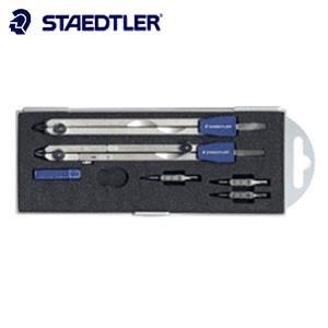 製図用品 ステッドラー ベージック マルス 554シリーズ ギア式 コンパスFセット 554-T05H|nomado1230