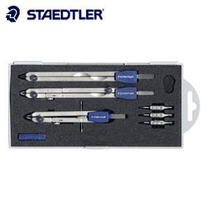 製図用品 ステッドラー ベージック マルス 554シリーズ ギア式 コンパスIセット 554-T09H|nomado1230