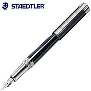 万年筆 名入れ ステッドラー レシーナ 万年筆 ブラック 9PB119J|nomado1230