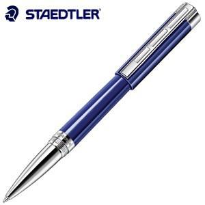 ローラーボール 名入れ ステッドラー レシーナ ローラーボール ブルー 9PB213M-9J|nomado1230