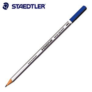 色鉛筆 水彩 ステッドラー カラト アクェレル 水彩色鉛筆 ダークオーカー 12本箱入り 125-19|nomado1230