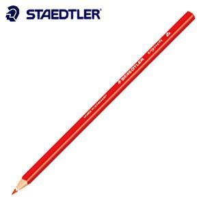 色鉛筆 ステッドラー エルゴソフト 色鉛筆 レッド 12本箱入り 157-2|nomado1230
