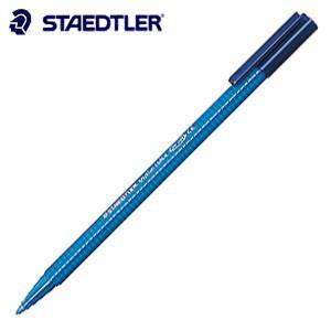 水性ペン ステッドラー トリプラス コバルトブルー カラーペン 10本箱入り 323-33|nomado1230