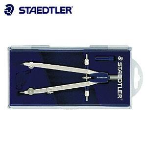 製図用品 ステッドラー マルス 553シリーズ プロフェッショナル メタル製中車式 コンパスBセット 553-01|nomado1230