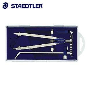 製図用品 ステッドラー マルス 553シリーズ プロフェッショナル メタル製中車式 コンパスDセット 553-02|nomado1230