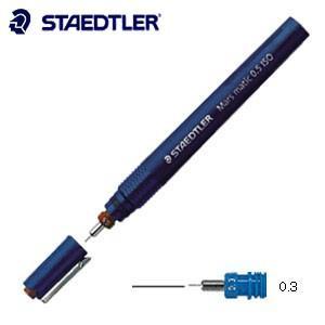 製図用品 ステッドラー マルス マチック 製図ペン 線幅0.3ミリ 700-03|nomado1230