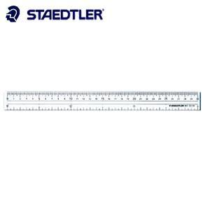 製図用品 ステッドラー 直定規 直線定規・両側目盛付き 50センチ 962-20-50|nomado1230