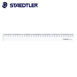 製図用品 ステッドラー 直定規 直線定規・片側目盛り付き 15センチ 962-24-15|nomado1230