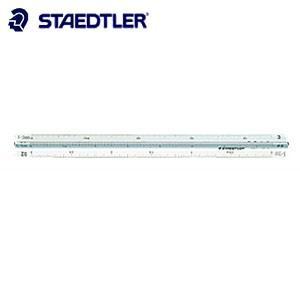 製図用品 ステッドラー 高精度オールアルミ ポケット型 三角スケール 15センチ 建築士用 987-15-6|nomado1230
