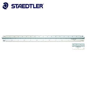 製図用品 ステッドラー 高精度オールアルミ 副尺付き 5センチ 三角スケール 30センチ 建築士用 987-30-6|nomado1230
