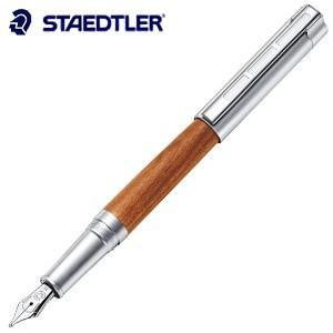 万年筆 名入れ ステッドラー リグヌム 万年筆 プラムウッド 9PM121|nomado1230