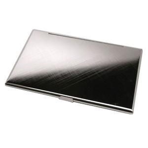 カードケース メンズ 革 名入れ スリップオン Noblessa NCシリーズ ブラスカードケース ネイビー DNK-2701NV|nomado1230|02
