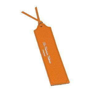 ブックマーク 名前入り スリップオン NC Noblessa ブックマーク 3個セット オレンジ DNK-6001OR|nomado1230