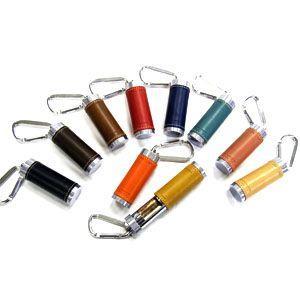 携帯灰皿 革 スリップオン BTシリーズ オレンジ 新Twistタイプ カラビナ付き 携帯用灰皿 INL-2505OR|nomado1230